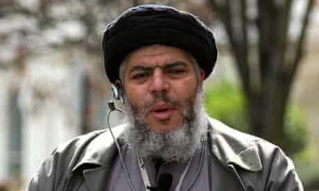 Muslim cleric Abu Hamza
