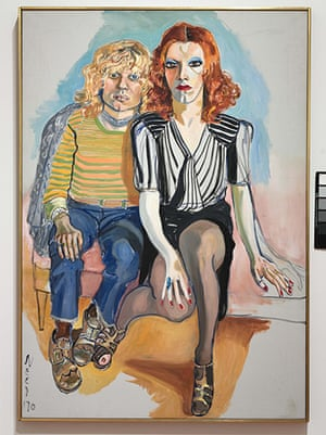 Alice Neel: Jackie Curtis and Rita Redd (1970)