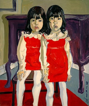 Alice Neel: The De Vegh Twins (1975)