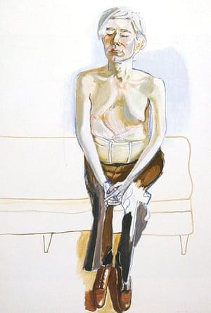 Alice Neel: Andy Warhol (1970)