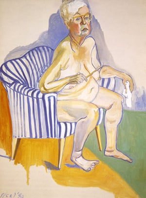 Alice Neel: Self-Portrait (1980)