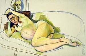 Alice Neel: Pregnant Woman(1971)