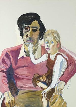 Alice Neel: Don Perlis and Jonathan (1982)