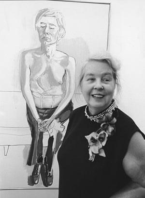 Alice Neel: Alice Neel At Finch College Gallery