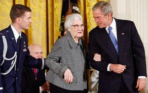 To Kill a Mockingbird: Bush Awards Presidential Medal of Freedom to Harper Lee