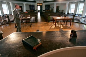 To Kill a Mockingbird: old Monroeville County Courthouse, Alabama