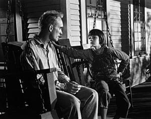 To Kill a Mockingbird: Robert Duvall & Mary Badham in To Kill a Mockingbird