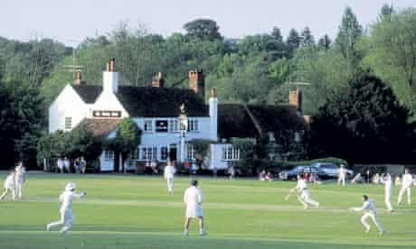village cricket match