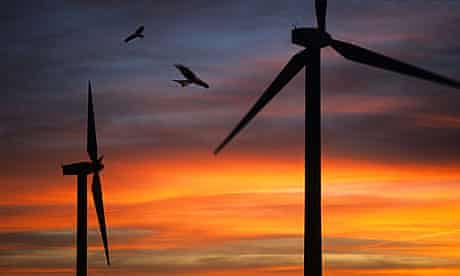 A Welsh windfarm