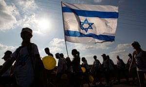 Israeli march calling for the release of Gilad Shalit