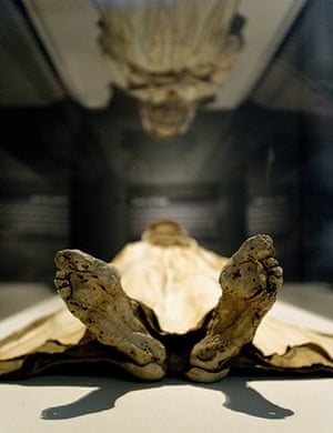 Mummies of the World:  Exhibition at California Science Center Los Angeles, USA