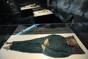 Mummies of the World: Exhibition at California Science Center in Los Angeles, USA