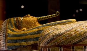 Mummies of the World: Exhibition at California Science Center  Los Angeles USA