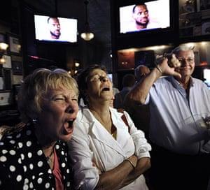 LeBron James: Chicago Bulls fans watch LeBron James