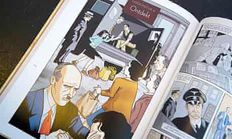 Graphic novel version of The Diary of Anne Frank