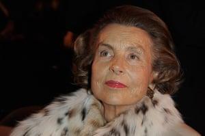 Bettencourt case: Liliane Bettencourt heiress to the L'Oreal fortune