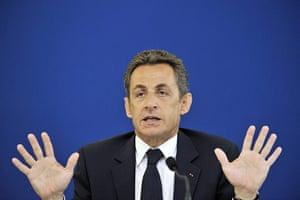 Bettencourt case: French President Nicolas Sarkozy