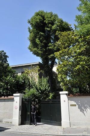 Bettencourt case 2: Family house of Liliane Bettencourt in Neuilly-sur-Seine, outside Paris
