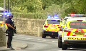 Police hunting Raoul Moat in Rothbury