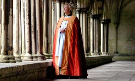 June Osborne, before her ordination as first woman dean of Salisbury Cathedral
