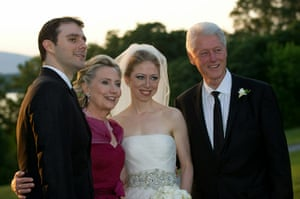 Chelsea Clinton wedding: Chelsea Clinton Marries Marc Mezvinsky in Rhinebeck