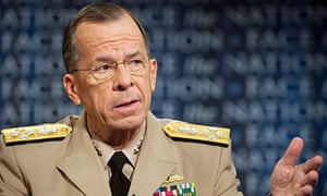 Admiral Michael Mullen, chairman of the US joint chiefs of staff