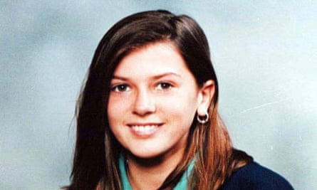 Billie-Jo Jenkins, 13, who was found murdered at her home in Hastings, Sussex, in 1997.