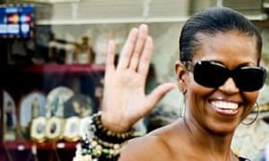 Michelle Obama in Marbella, Spain