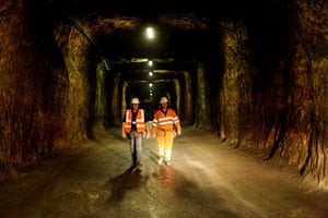 Salt Mine Storage: Salt mine to be used as document storage for the national archive