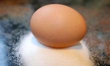 Egg and sugar