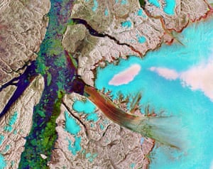 Petermann Glacier: Greenland, Arctic