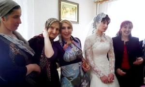Zulikhan on her wedding day in This World: Stolen Brides