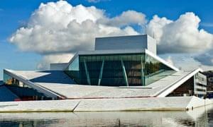Oslo's new opera house