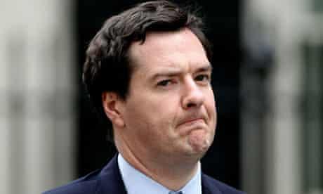 George Osborne Leaves Number 11 Downing Street