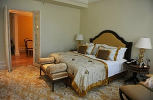 Taj Mahal Palace hotel: A room in the newly-restored heritage wing