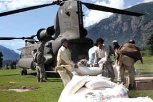 Pakistan Flood Disaster: US Pakistan relief efforts continue
