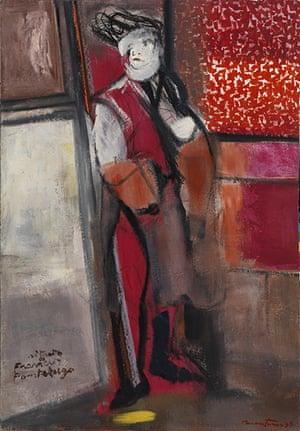 Pordenone Montanari: Ritratto di Francis Pontelugo, 1999