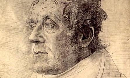 Cornelius Varley's drawing of JMW Turner