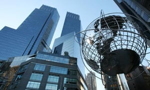 Time Warner centre in New York