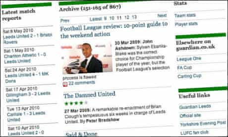 """""""The Damned United"""" film review on the guardian.co.uk Leeds United tag page"""