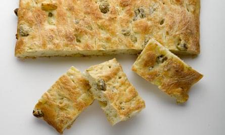 Roasted potato bread