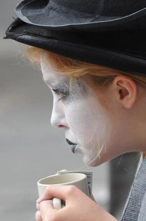 Edinburgh festival: Edinburgh performer
