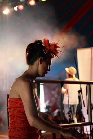 Edinburgh festival: Performer offstage