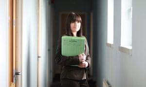 Probation officer Kelly Grice