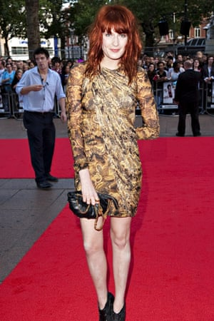 Scott Pilgrim UK premiere: Scott Pilgrim Vs The World Florence Welch