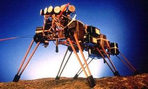 The Genghis robot, Rodney Brooks, Mars