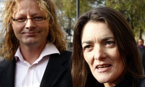 Jenny Paton and partner Tim Joyce