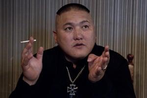 Mongolian neo-Nazis: The co-founder of Tsagaan Khass who calls himself Big Brother