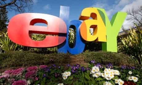 eBay sign, San Jose