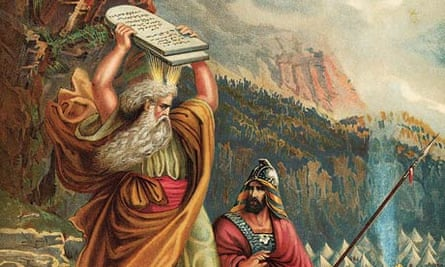 Moses Sees The Golden Calf, c1885
